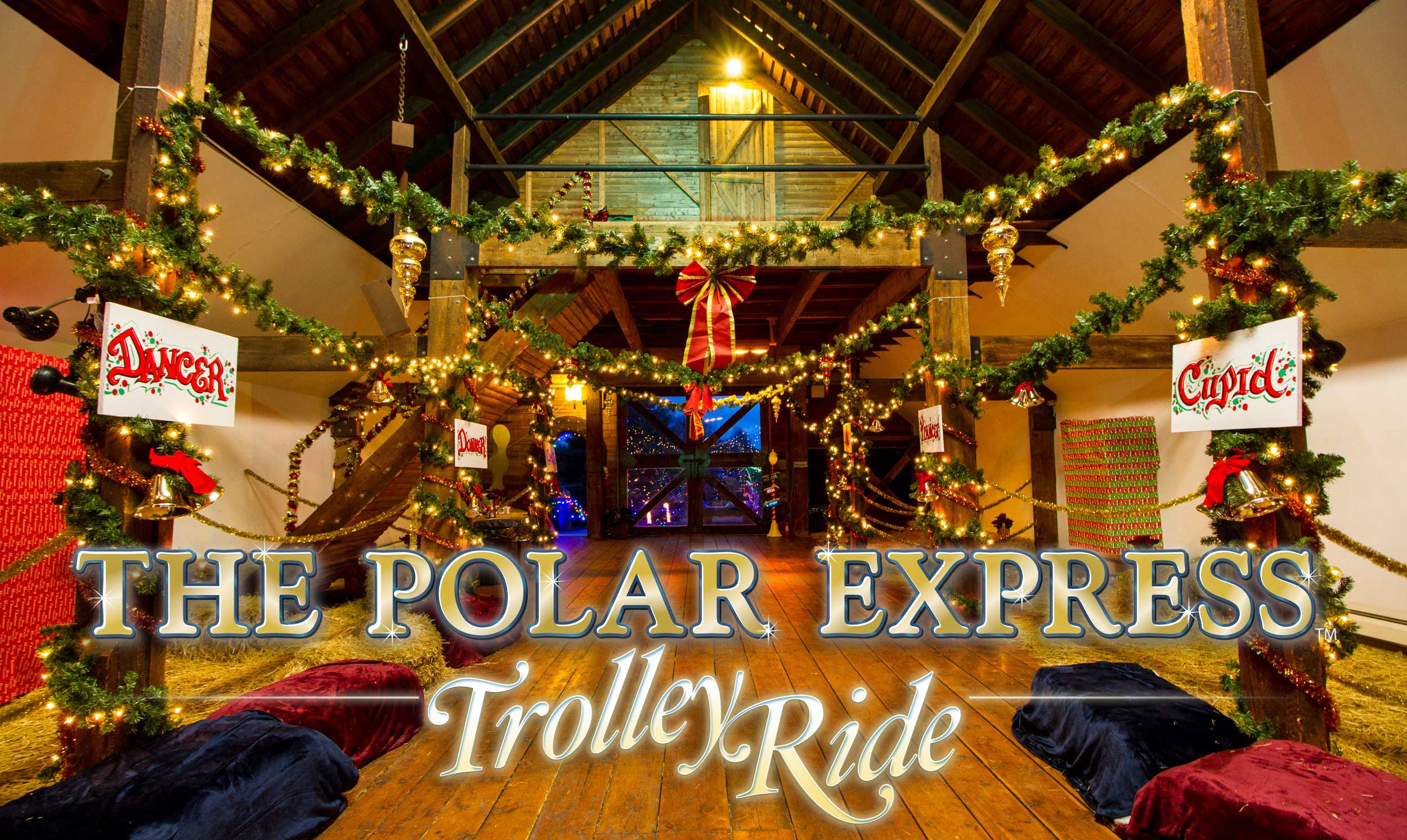 north fork trolley polar express
